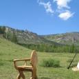 椅子と風景