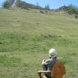椅子と風景と私